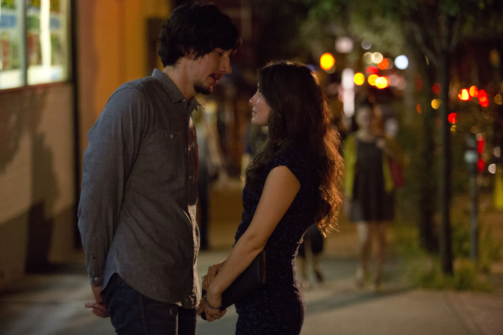 "Adam Driver and Shiri Appleby in the ""Girls"" Season 2 episode, ""It's Back."""