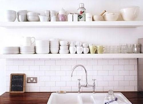 7 simple but genius alternatives to kitchen cabinets rh yahoo com White Kitchen Cabinets Cheap Cheap Kitchen Cabinet Ideas