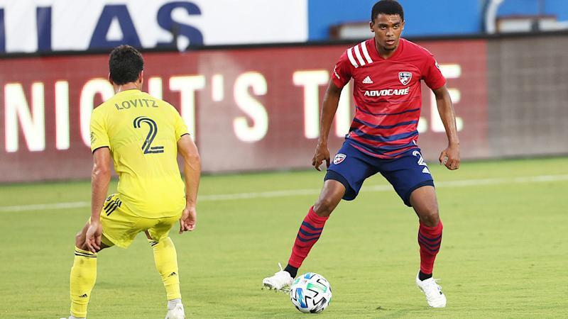 Reggie Cannon, pictured here in action for FC Dallas against Nashville SC.