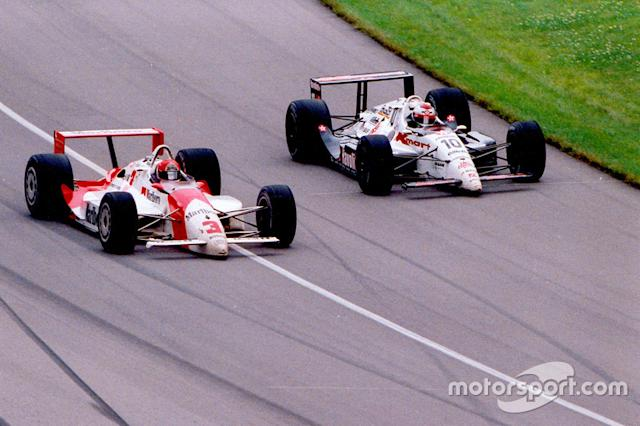 "#3 - 1991: Mega-Duell Rick Mears vs. Michael Andretti <span class=""copyright"">Indianapolis Motor Speedway</span>"