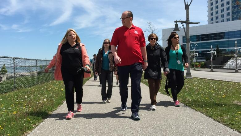 Scores walk in support of mental health as 'Walking Wednesdays' kicks off for season