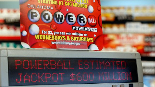 Powerball Jackpot Swells to $600 Million With California's Participation