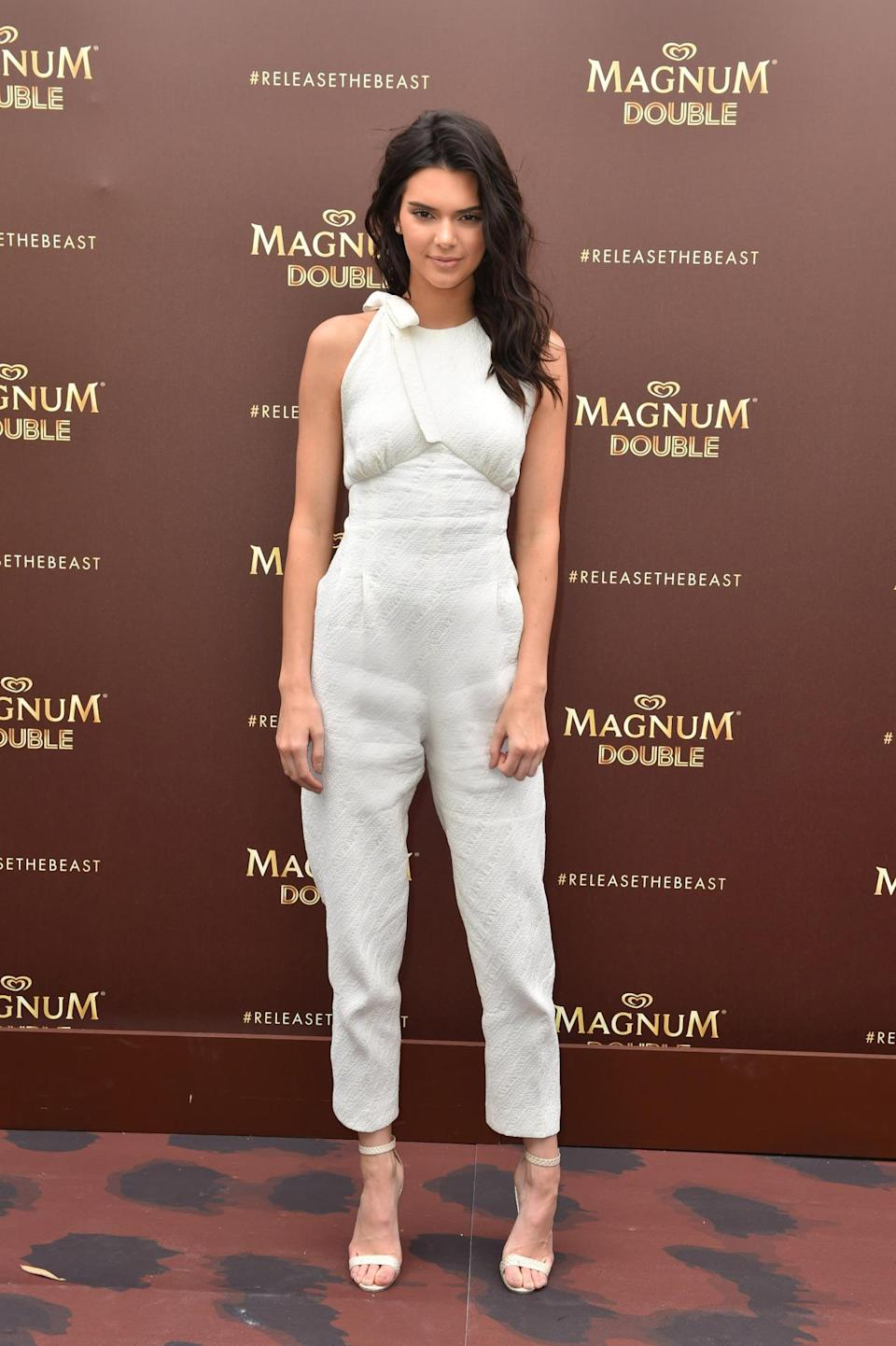 <p>The Kardashian family member has increased her earnings by 150% this year, thanks to campaigns with Estee Lauder and Calvin Klein. <i>[Photo: PA]</i></p>
