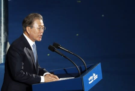 South Korean political leaders vow to work together to resolve Japan dispute