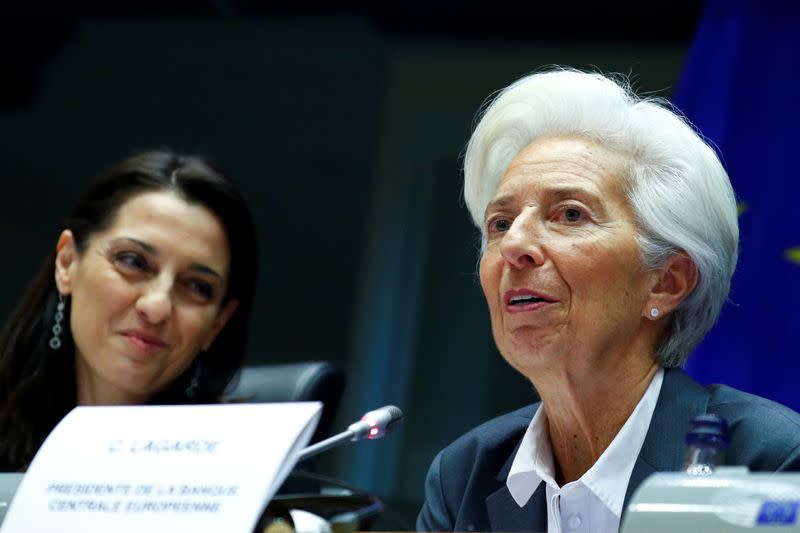 'Bear with me,' new ECB boss Lagarde asks lawmakers