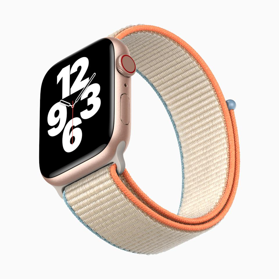 Apple Watch SE packs the essential features of Apple Watch into a modern design at an affordable price. (PHOTO: Apple)