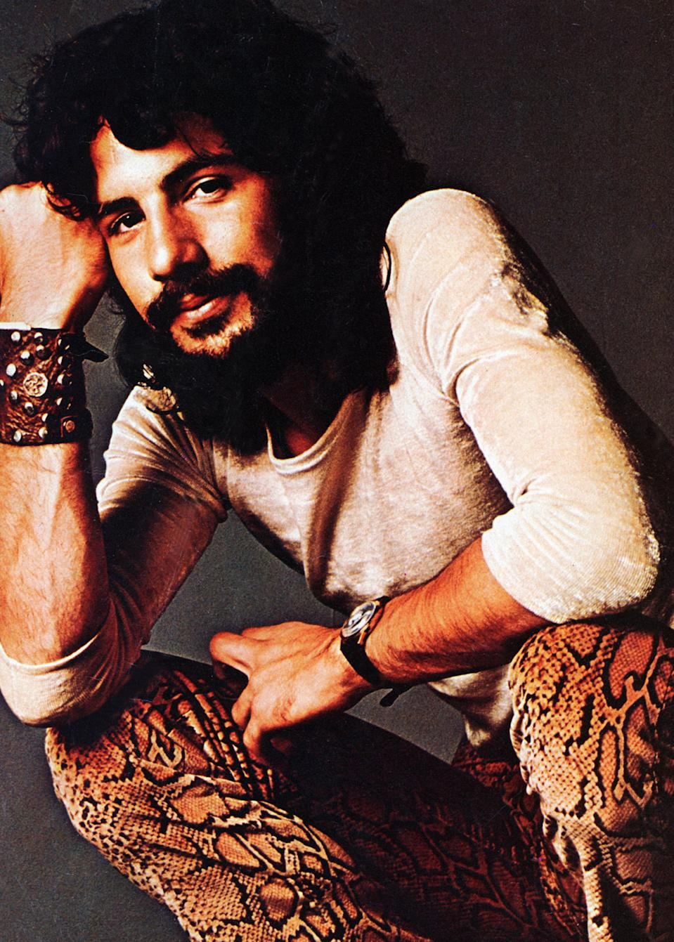 Then going by the stage name Cat Stevens, the singer turned to Islam following a near-death experience. (Photo: Jim McCrary/Redferns)
