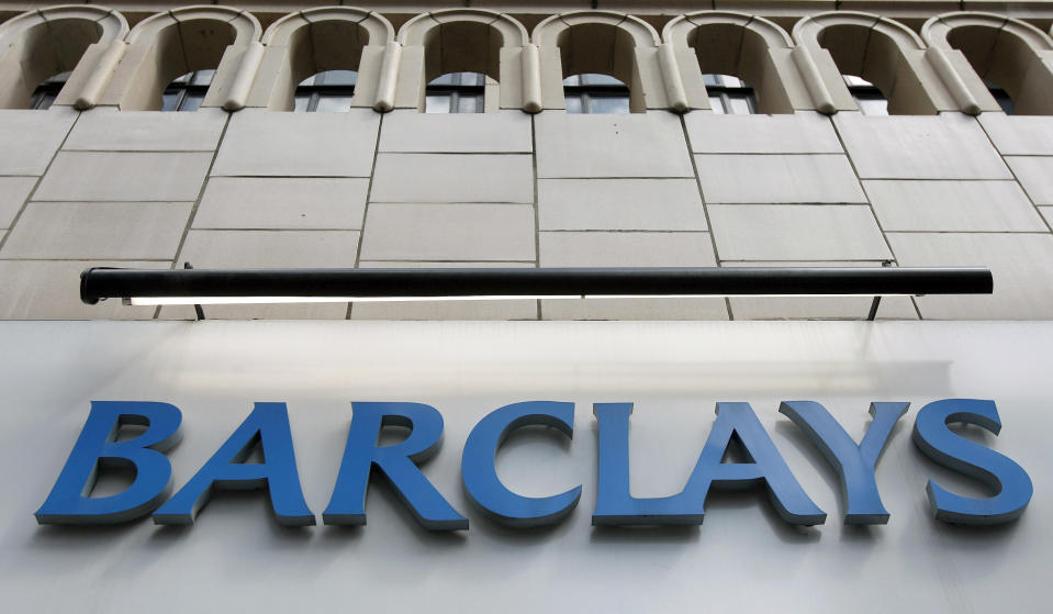 A Barclays bank branch in central London. Photo: Alessia Pierdomenico/Reuters