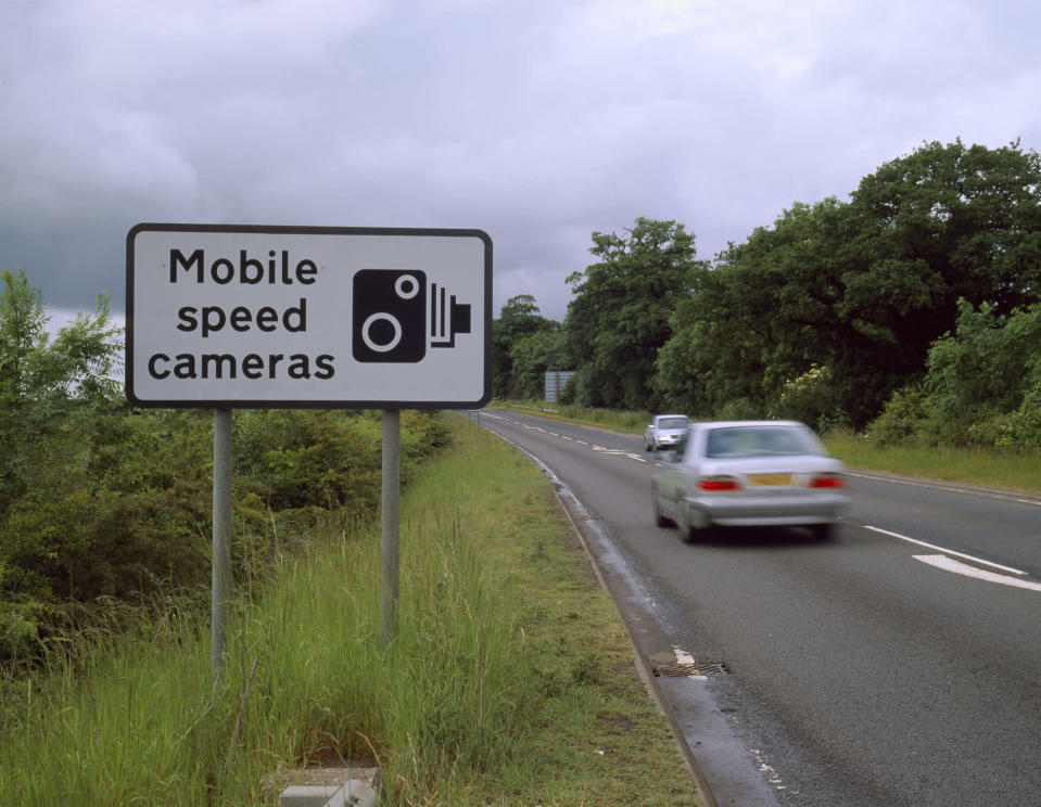 <em>Mobile – all forces and speed camera partnerships that responded said they deployed regular mobile speed cameras across their areas (Picture: Getty)</em>