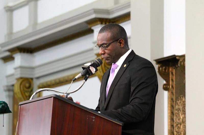 St. Louis Board of Aldermen President Lewis Reed introduced the clean energy resolution last month. (Contributed photo/St Louis City Board of Aldermen)