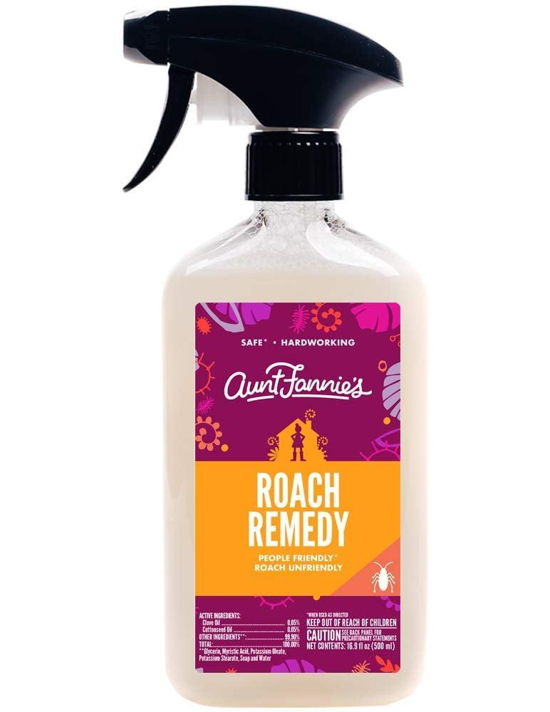 <p>Powered by essential oils, it's perfectly safe to use <span>Aunt Fannie's All-Purpose Pest Remedy</span> ($10) in your home.</p>
