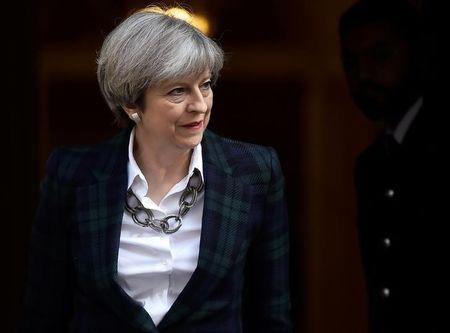 May Pledges to Boost U.K. Defense Spending in Tory Manifesto