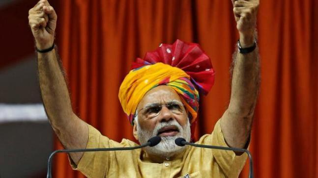 The BJP had made a number of promises in its manifesto for the 2014 Lok Sabha elections. While recounting his government's achievements, PM Modi will mention his government's achievements.