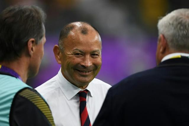 Eddie Jones says England have to treat the game as a one-off (AFP Photo/CHARLY TRIBALLEAU)