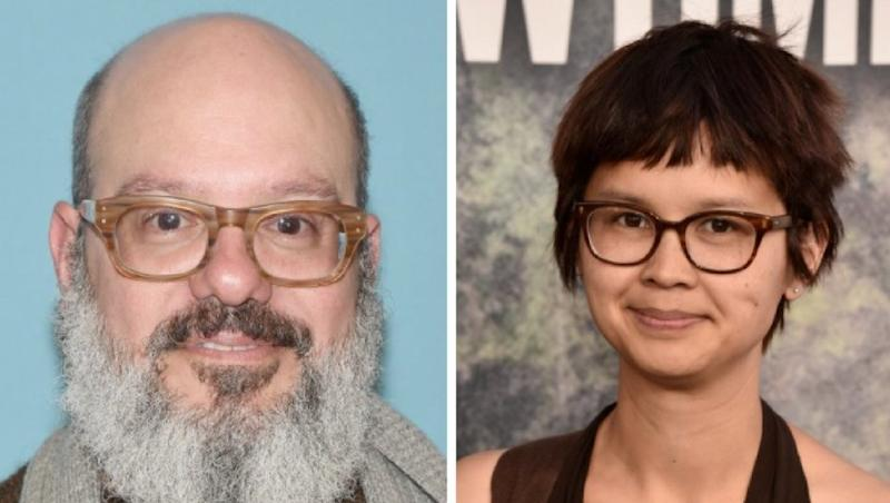 David Cross and Charlyne Yi.