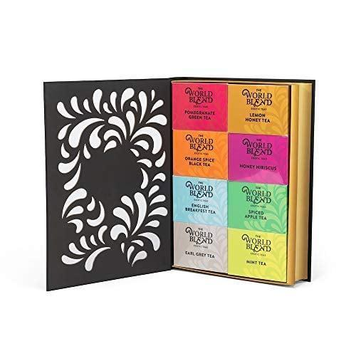 <p>The <span>Thoughtfully Gifts, Tea Story: A Tea Lover's Gift Set</span> ($25) comes with eight different teas.</p>