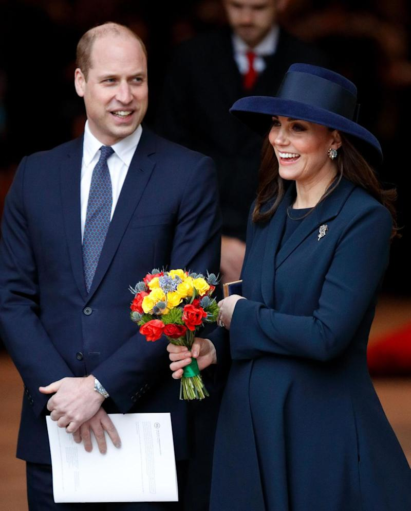 The countdown is on until the Duchess' April due date. Photo: Getty