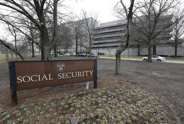 The Social Security Administration's main campus is seen in Woodlawn, Md. (Patrick Semansky/AP)