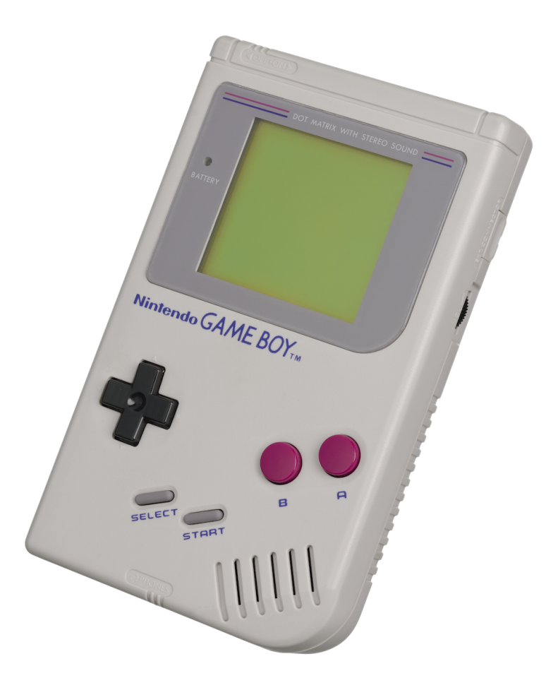 <p>The game-changing 8-bit console arrived in Europe in 1990 and introduced addictive puzzle game Tetris to the masses. Interchangeable cartridges enabled users to swap between different games. (Evan-Amos/Wikipedia) </p>