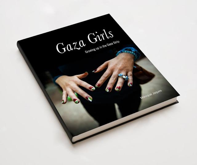 "<p>Bookcover of ""Gaza Girls: Growing up in the Gaza Strip."" </p>"