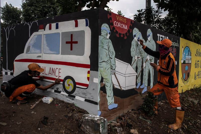 Indonesia capital extends social restrictions as  infections rise
