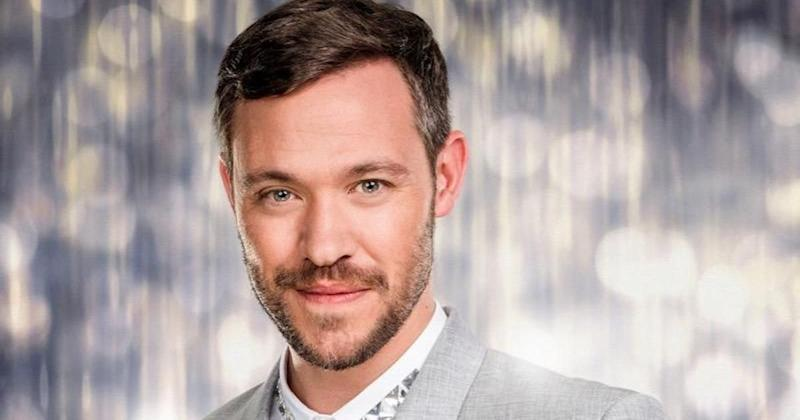 Will Young quit Strictly Come Dancing last year, just four weeks into the live shows (Photo: BBC)