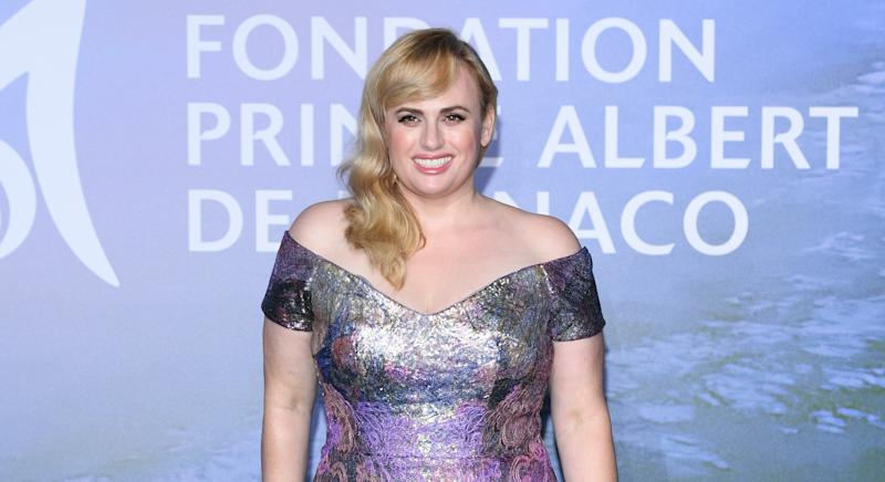 Rebel Wilson revealed in August she has lost 40lbs. (Getty Images)
