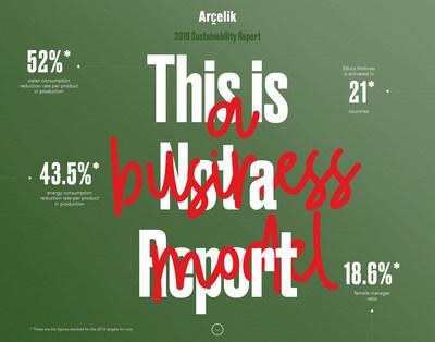 Arçelik 2019 Sustainability Report