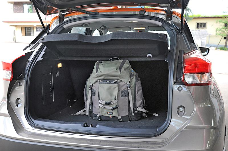 445-litre boot good for a weekend's luggage at best.