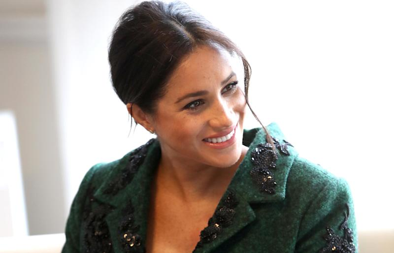 The Palace Reportedly Warned Meghan Markle About Throwing a 'Flashy Baby Shower'