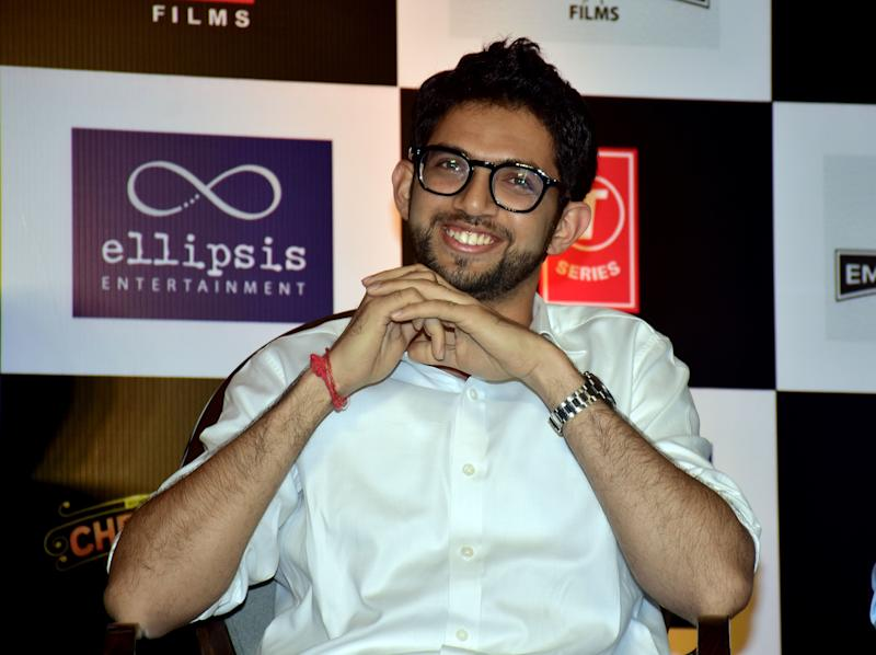 Aaditya Thackeray in a file photo (Photo: SOPA Images via Getty Images)