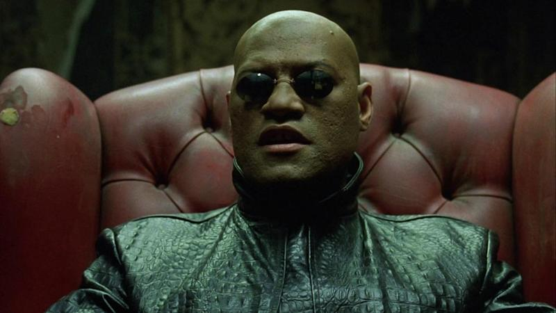 Another role that could've gone elsewhere - but Morpheus is Laurence Fishburne
