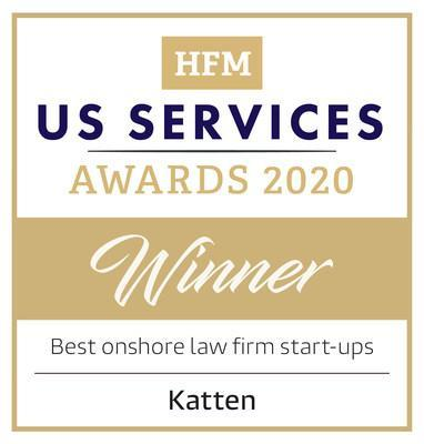 Katten is proud to be named among North America's top hedge fund service providers during the HFM US Service Awards 2020.