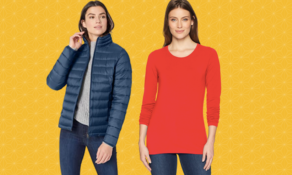 Amazon Essentials fashion is 30 percent off today (Photo: Amazon)