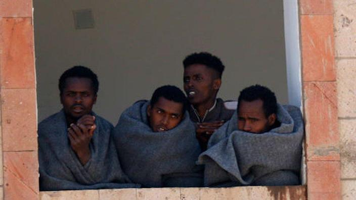 The Ethiopian migrants were expelled by Yemeni rebels who forced them to the Saudi Arabia border
