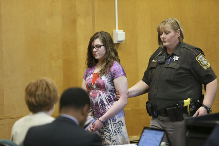 Anissa Weier seen in court. / Credit: MICHAEL SEARS/Milwaukee Journal Sentinel/Pool via Getty Images
