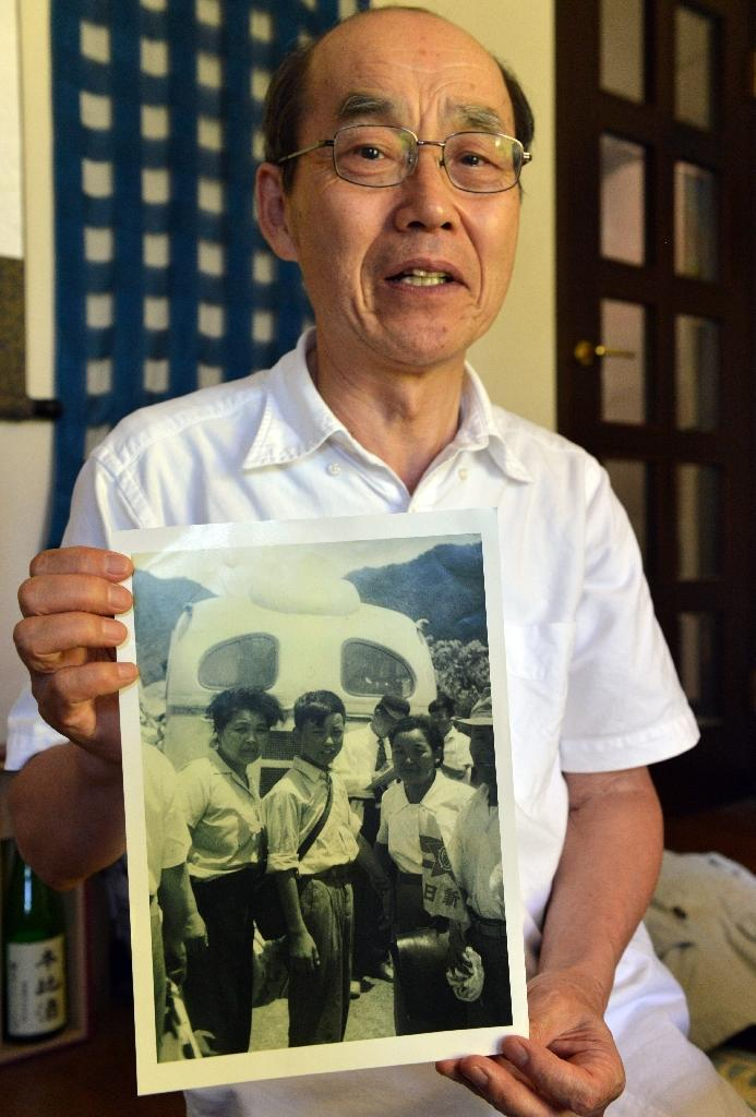 Yohachi Nakajima was just three years old when Tokyo surrendered on August 15, 1945, ending World War II but also leaving about 1.5 million Japanese stranded in Manchukuo, Tokyo's puppet regime in northeastern China (AFP Photo/Yoshikazu Tsuno)
