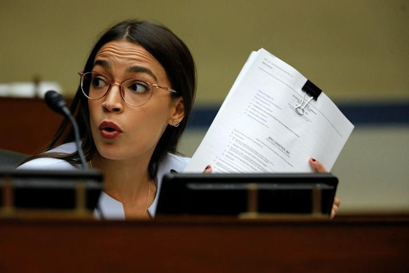 AOC condemns Trump after report suggests he pays less income tax than bartenders and undocumented immigrants