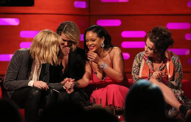 The cast of 'Ocean's 8' on 'Graham Norton'