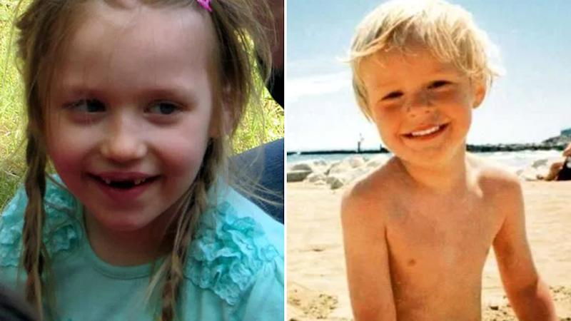 Inga Gehricke (L) was 5-years-old when she went missing in 2015, and René Hasee was 6-year-old when he disappeared in 1996. Source: AAP