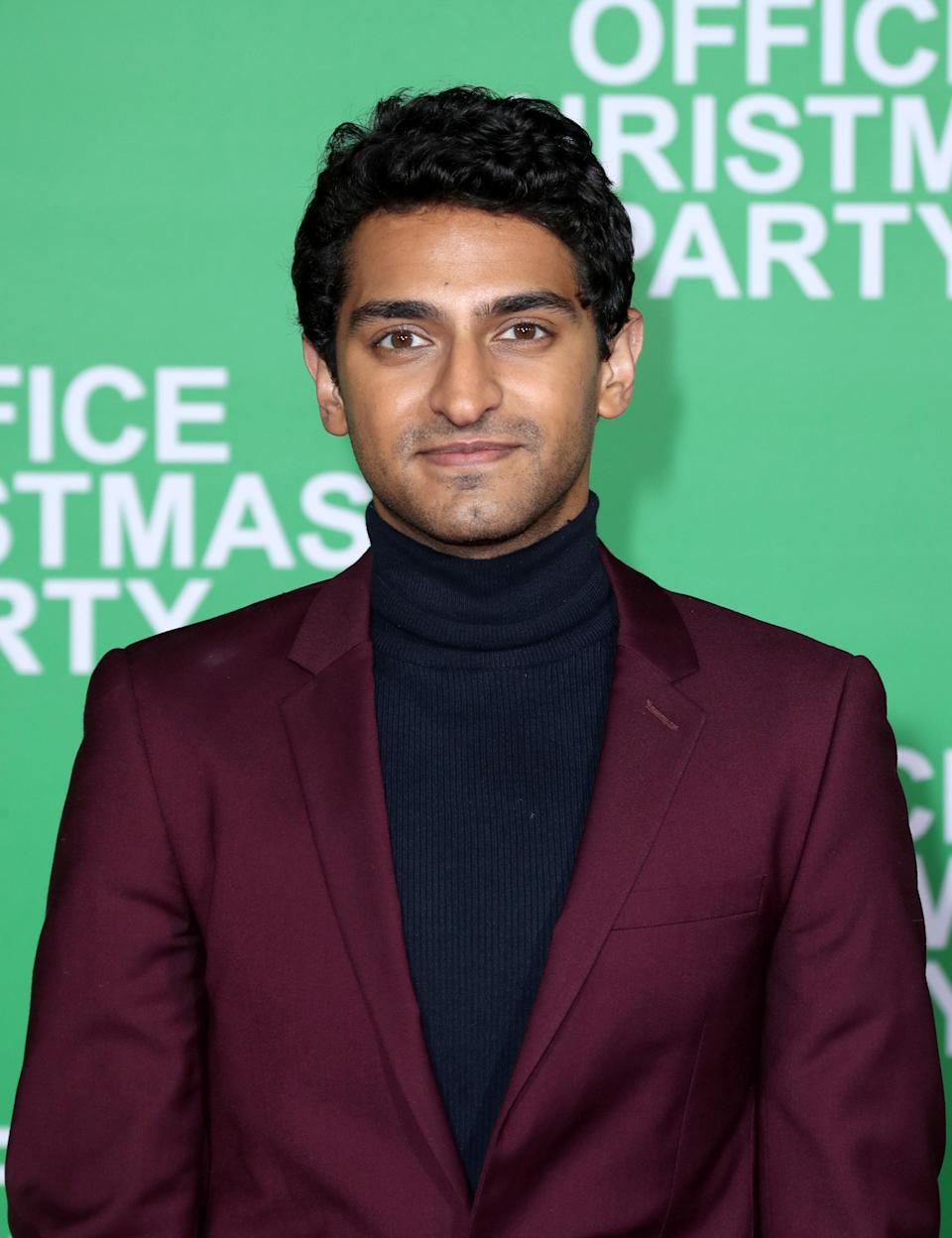 """Actor Karan Soni attends the LA Premiere of Paramount Pictures """"Office Christmas Party"""" on December 7, 2016. (Photo by Jonathan Leibson/Getty Images for Paramount Pictures)"""