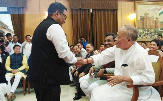 Manipur: Defecting Cong MLA Shyam Kumar made minister in first BJP govt, gets showcause notice