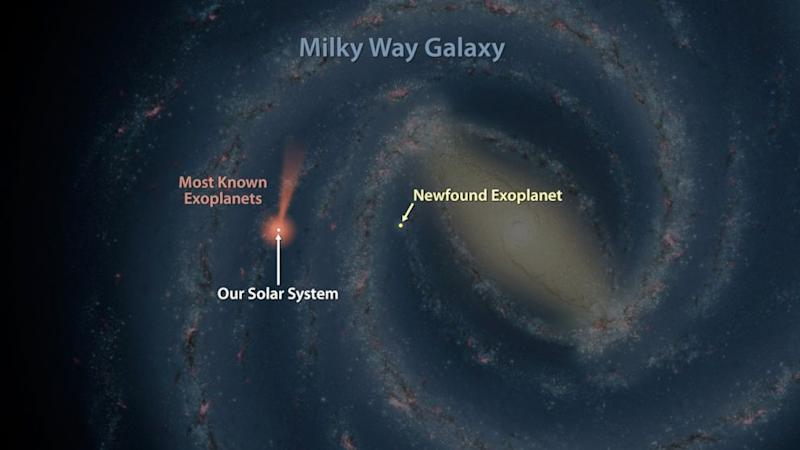 NASA Pinpoints One of the Farthest Known Exoplanets From Earth