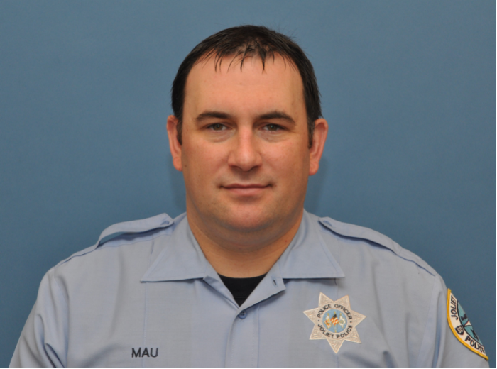 Joliet Officer Bob Mau made nearly $46,000 in overtime in 2019. Image via city of Joliet FOIA