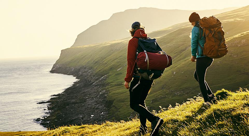 Before heading out on your next walk, you may want to stock up on unmissable deals in Mountain Warehouse's clearance sale. (Getty Images)