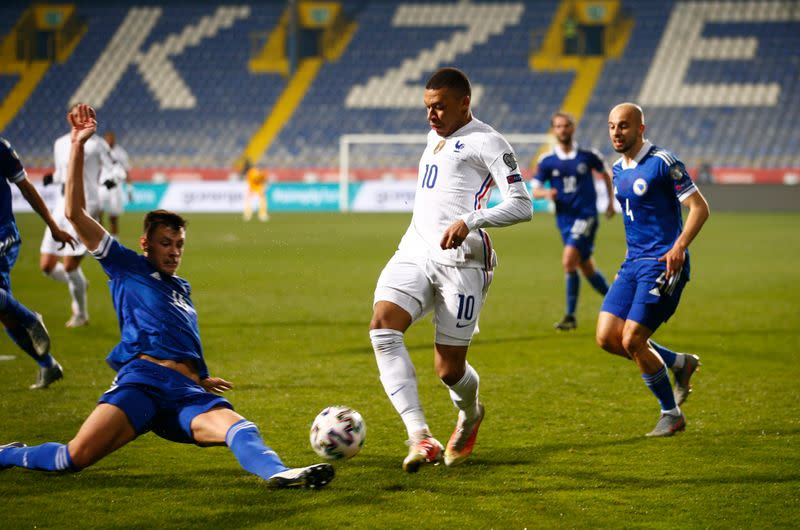 World Cup Qualifiers Europe - Group D - Bosnia and Herzegovina v France