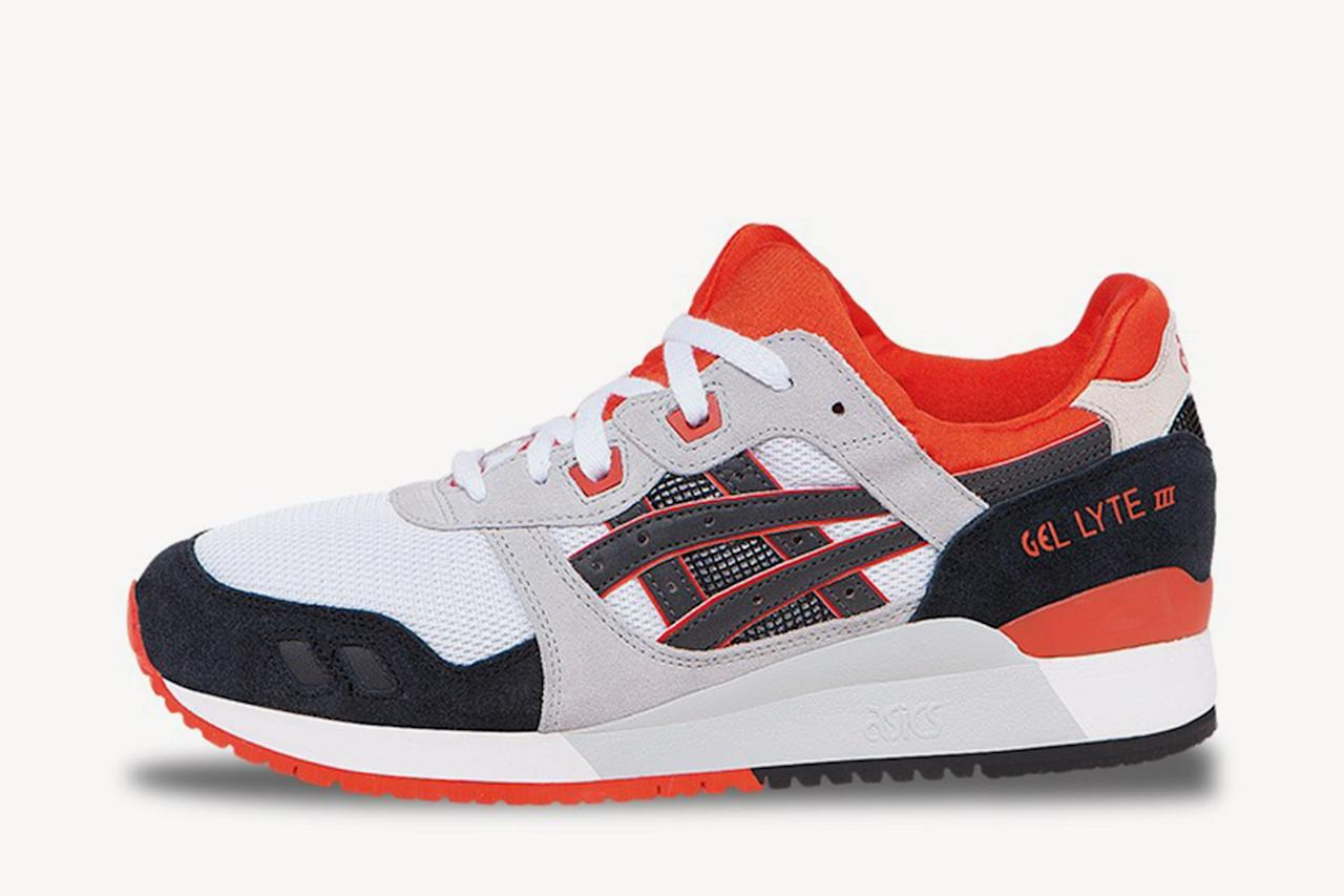 "<p>$100, buy now at <a rel=""nofollow"" href=""http://www.asicstiger.com/us/en-us/gel-lyte-iii/p/0010236801.0190?mbid=synd_yahoostyle"">asicstiger.com</a></p>"