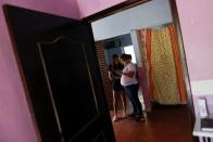 Home of Alberto Burgos, who works in the U.S. and sends money to his family in Jantetelco, state of Morelos