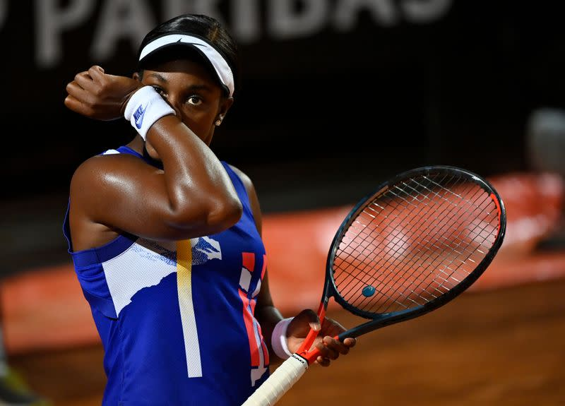 Former runner-up Stephens crashes out of French Open