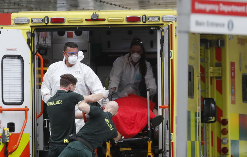 UK Reports 596 Covid-19 Deaths Raising Tally to Over 16,000